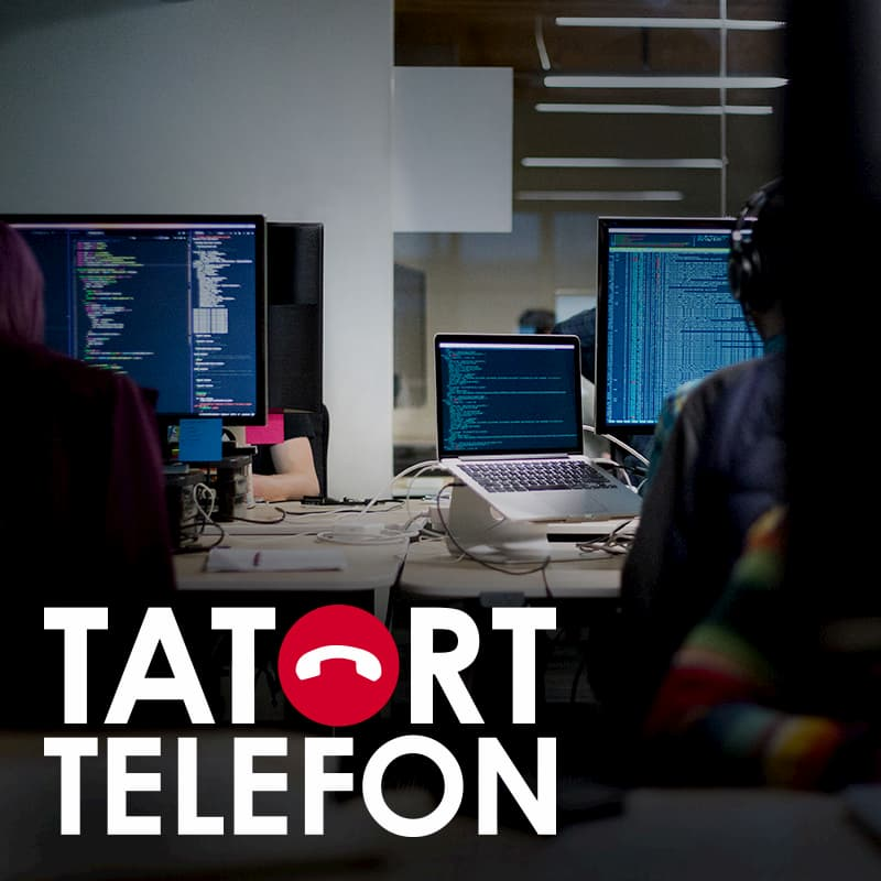 Teaser Tatort Telefon - Support-Scam